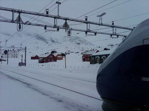 Highest train station in n. europe